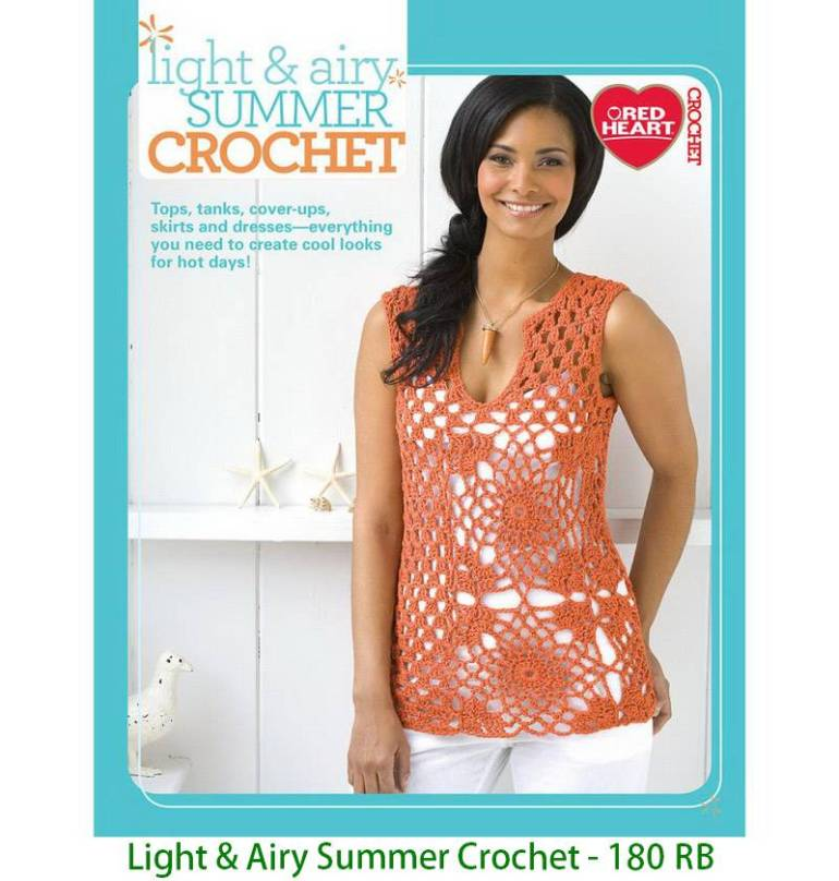 Light & Airy Summer Crochet - 180 RB