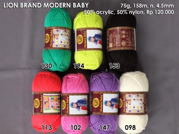 Lion Brand Modern Baby