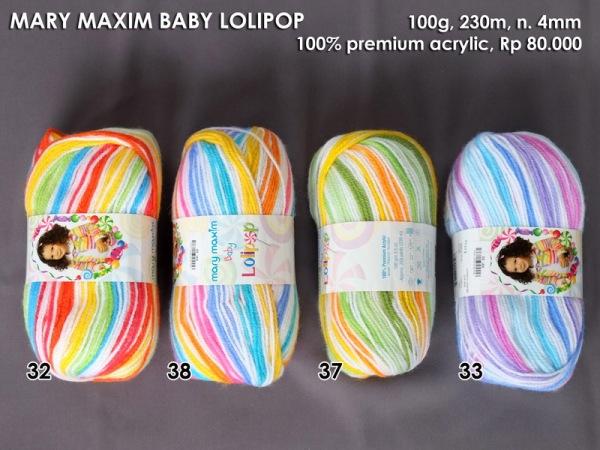 Mary Maxim Baby Lolipop