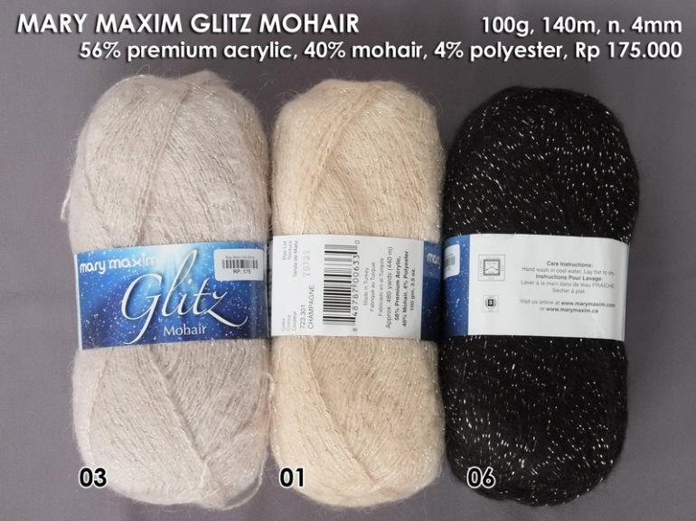 Mary Maxim Glitz Mohair