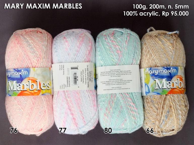 Mary Maxim Marbles