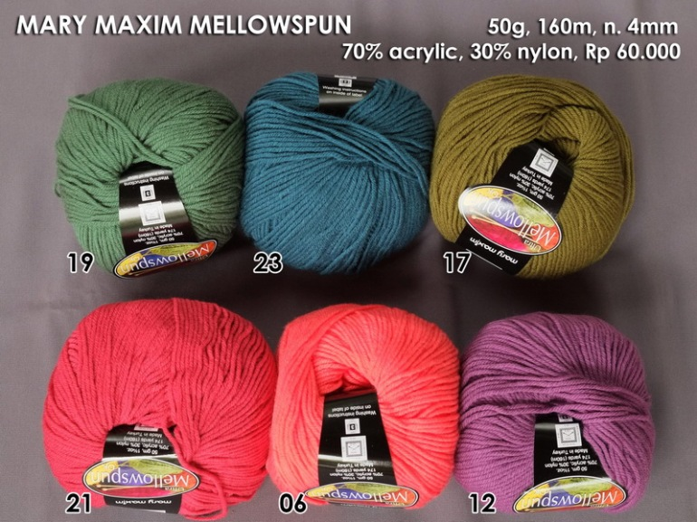 Mary Maxim Mellowspun