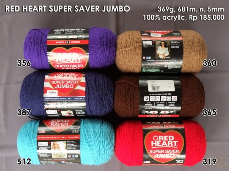 Red Heart Super Saver Jumbo