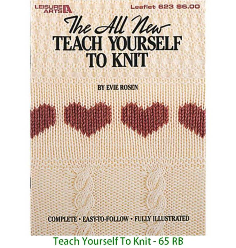 Teach Yourself To Knit - 65 RB