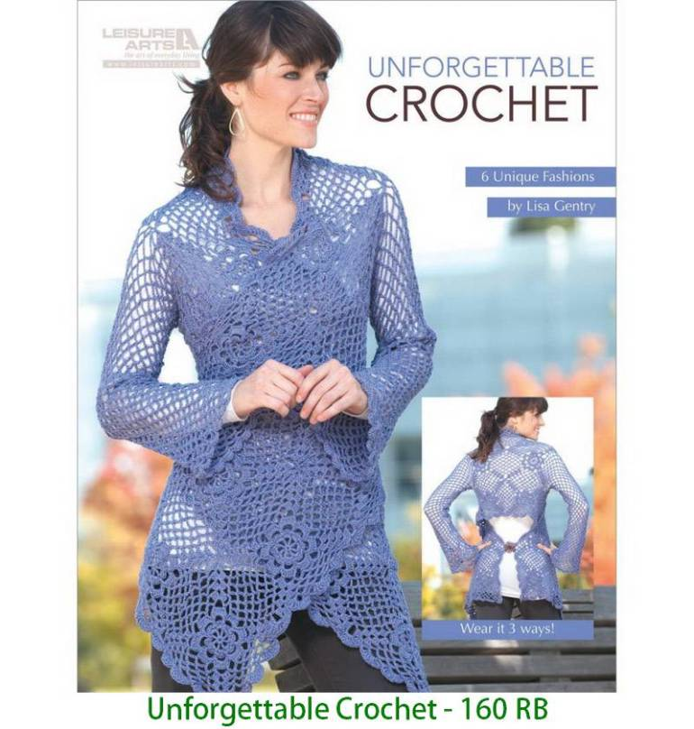 Unforgettable Crochet - 160 RB