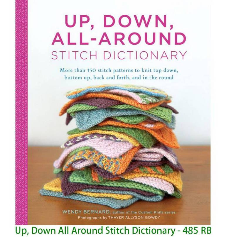 Up, Down All Around Stitch Dictionary - 485 RB