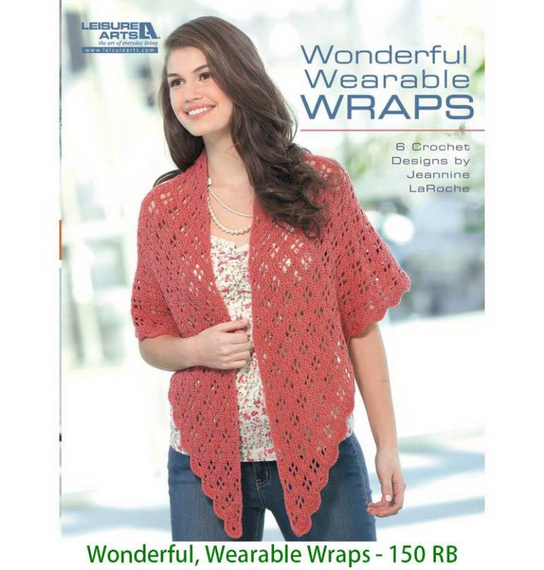 Wonderful, Wearable Wraps - 150 RB