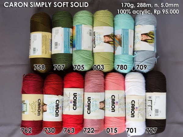 Caron Simply Soft Solid