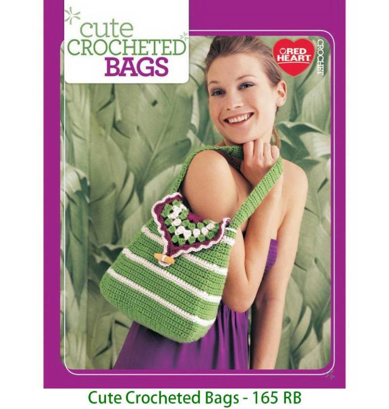 Cute Crocheted Bags - 165 RB