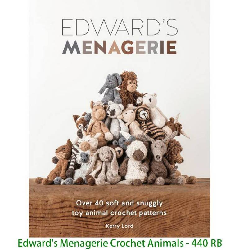 Edward's Menagerie Crochet Animals - 440 RB