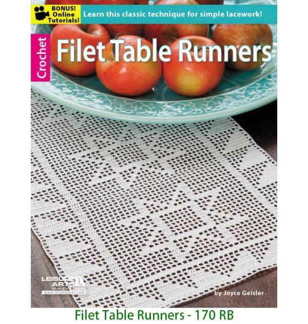 Filet Table Runners - 170 RB