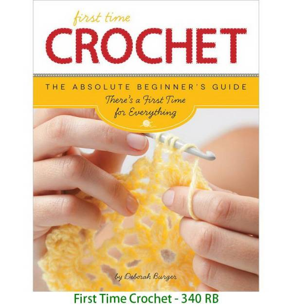 First Time Crochet - 340 RB