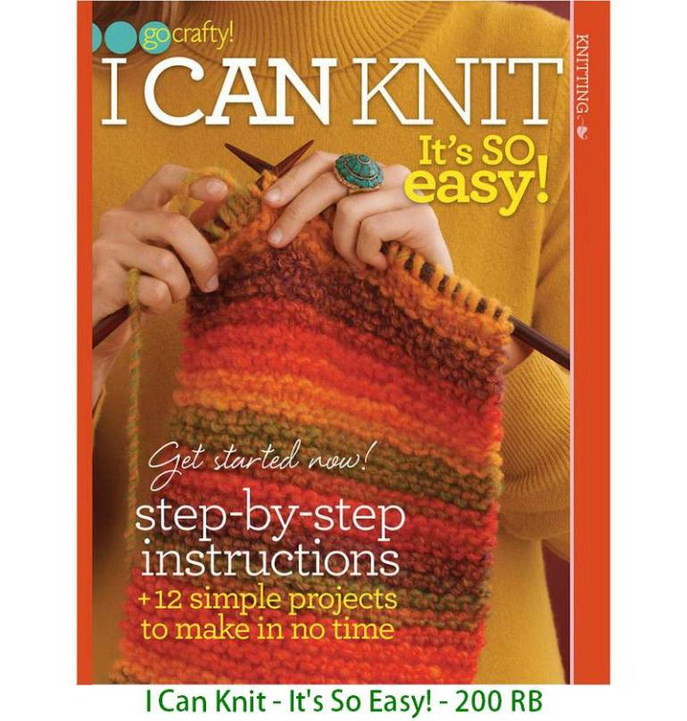 I Can Knit - It's So Easy! - 200 RB