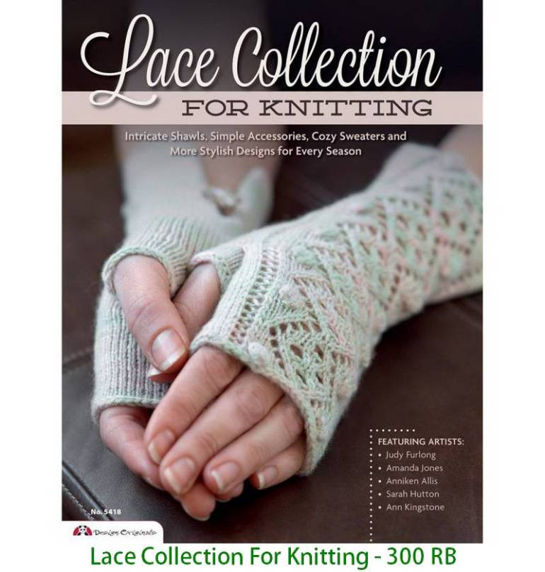 Lace Collection For Knitting - 300 RB