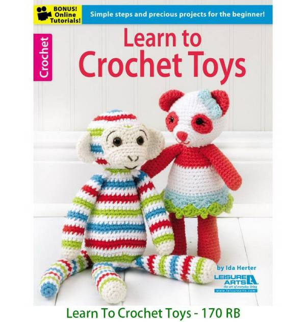 Learn To Crochet Toys - 170 RB