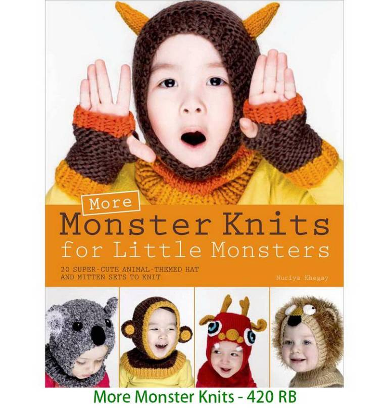 More Monster Knits - 420 RB