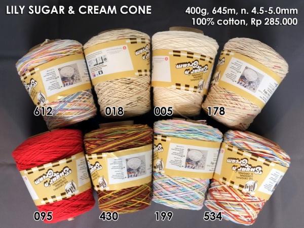 Lily Sugar Cream Cone