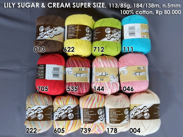 Lily Sugar Cream Super Size
