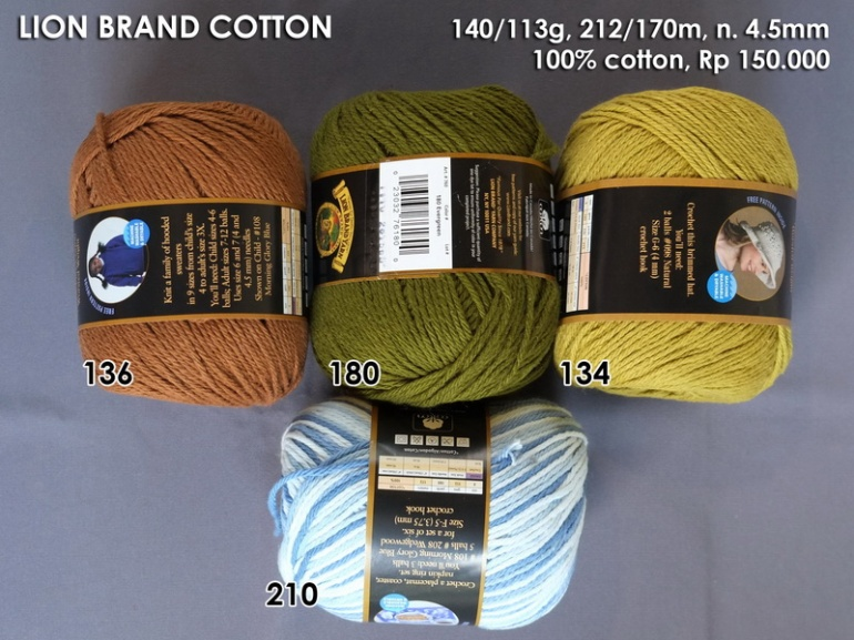 Lion Brand Cotton
