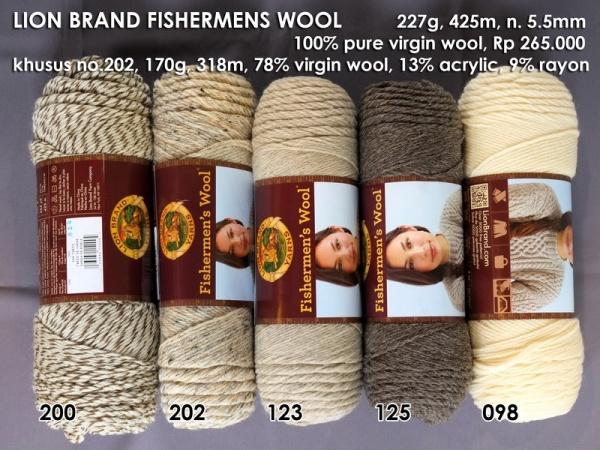 Lion Brand Fishermens Wool
