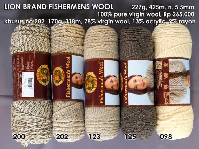 Lion Brand Fishermens Wool