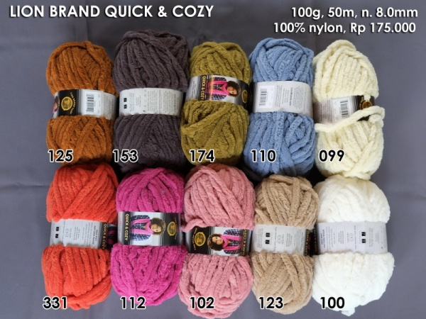 Lion Brand Quick n Cozy