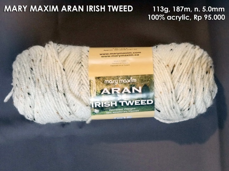 Mary Maxim Aran Irish Tweed