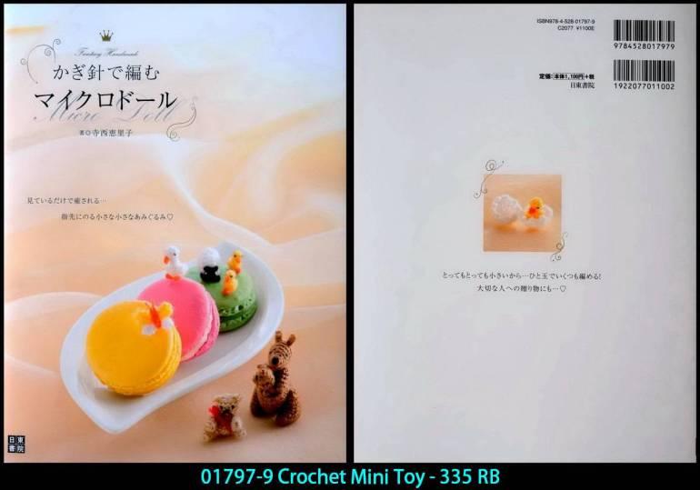 01797-9 Crochet Mini Toy - 335 RB