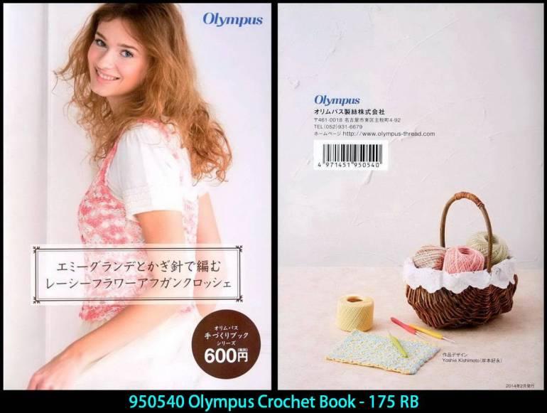 950540 Olympus Crochet Book - 175 RB
