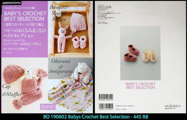 BO 190602 Babys Crochet Best Selection -445 RB