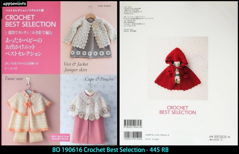 BO 190616 Crochet Best Selection - 445 RB
