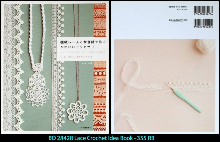 BO 28428 Lace Crochet Idea Book - 355 RB