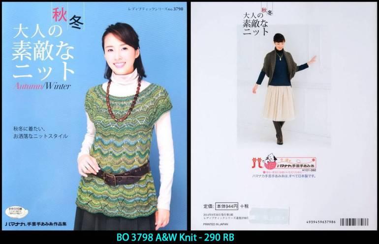 BO 3798 A&W Knit - 290 RB