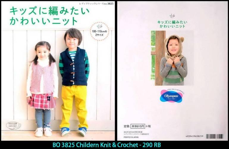 BO 3825 Childern Knit & Crochet - 290 RB