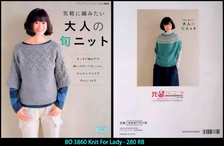 BO 3860 Knit For Lady - 280 RB