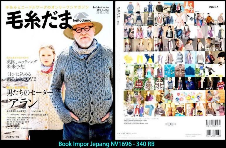 Book Impor Jepang NV1696 - 340 RB