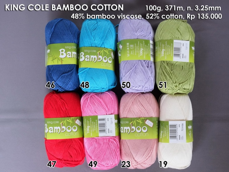 King Cole Bamboo Cotton