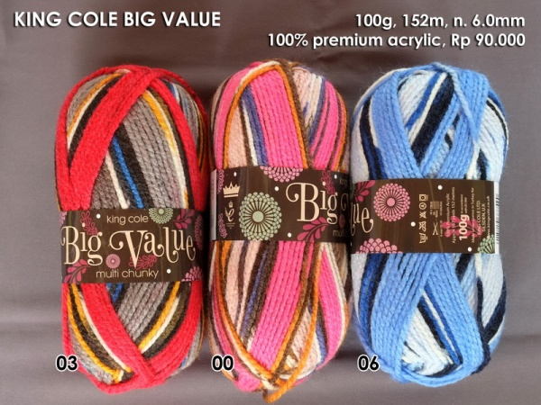 King Cole Big Value