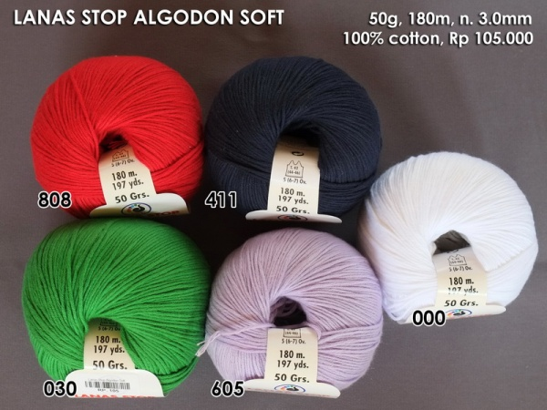 Lanas Stop Algodon Soft