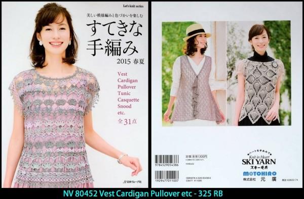 NV 80452 Vest Cardigan Pullover etc - 325 RB