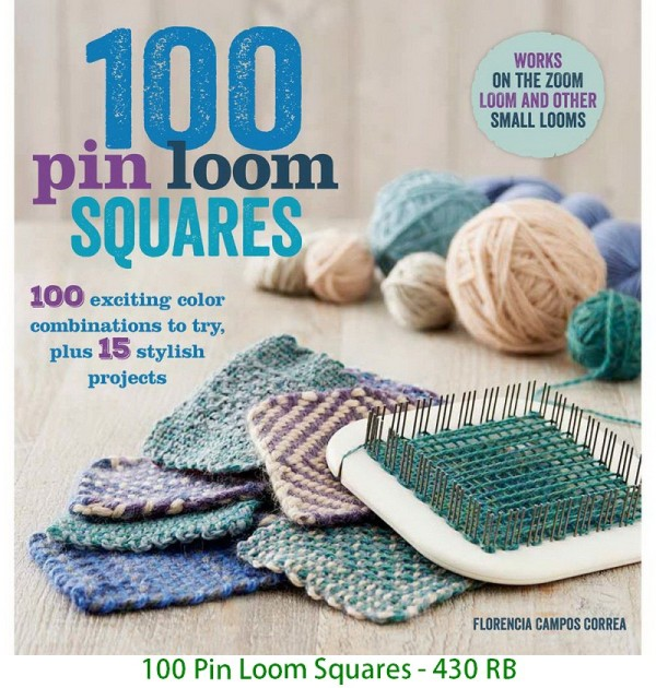100 Pin Loom Squares - 430 RB