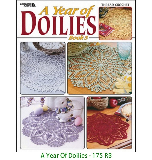 A Year Of Doilies - 175 RB