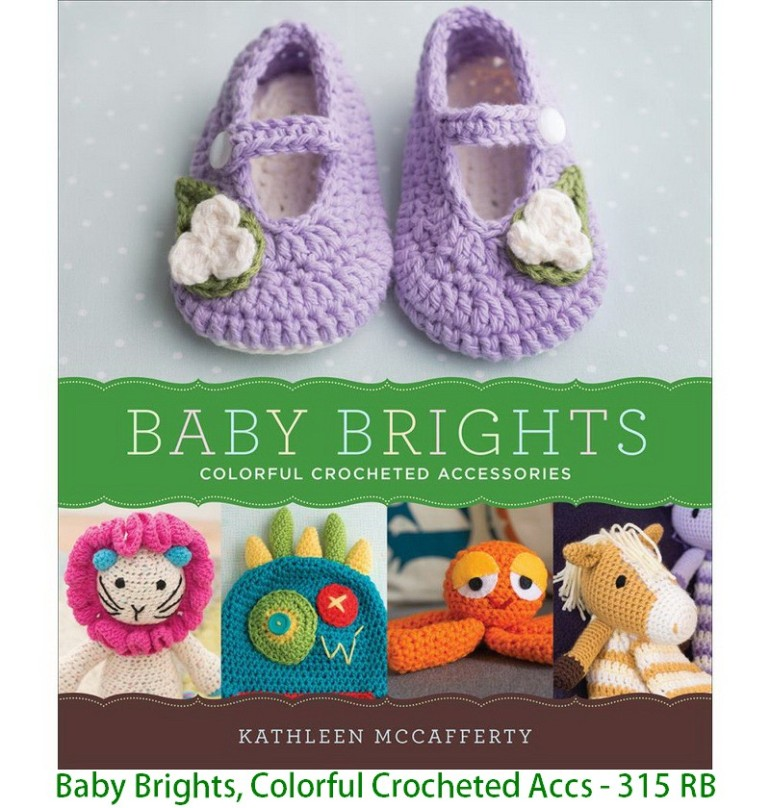 Baby Brights, Colorful Crocheted Accs - 315 RB