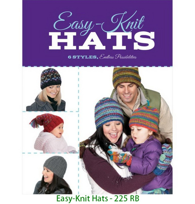 Easy-Knit Hats - 225 RB