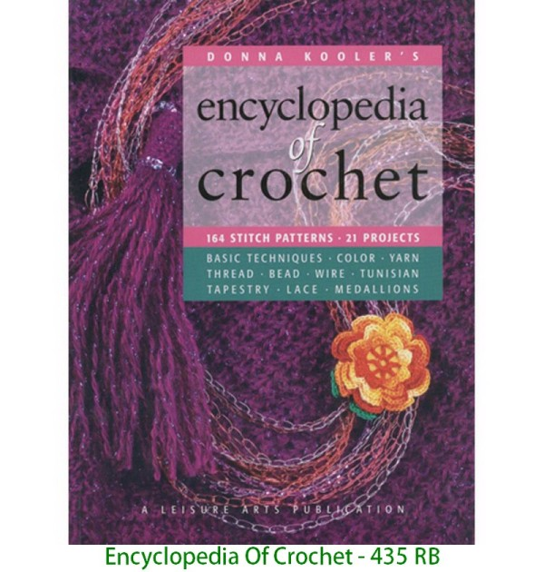 Encyclopedia Of Crochet - 435 RB