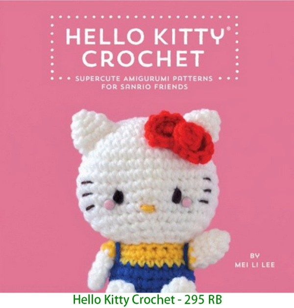 Hello Kitty Crochet - 295 RB