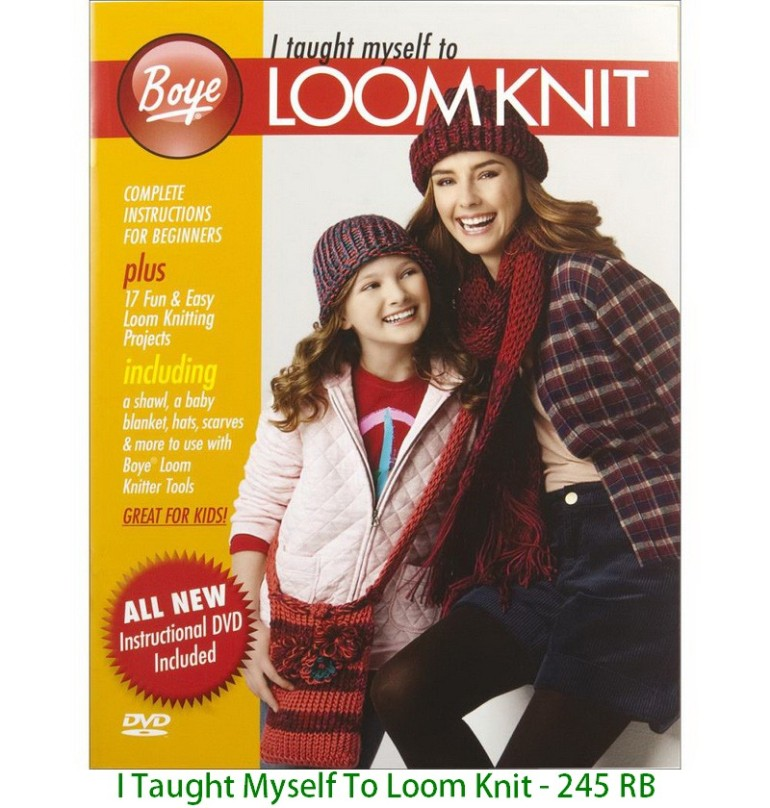 I Taught Myself To Loom Knit - 245 RB
