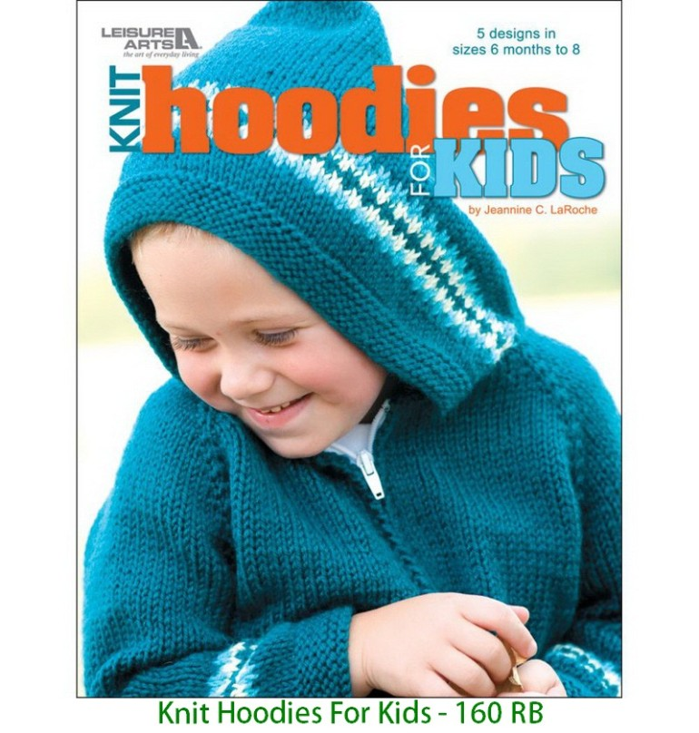 Knit Hoodies For Kids - 160 RB