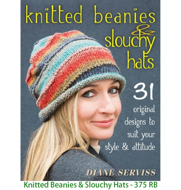 Knitted Beanies & Slouchy Hats - 375 RB