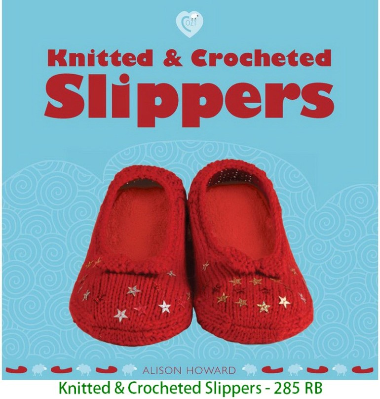Knitted & Crocheted Slippers - 285 RB